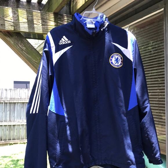 official photos f2869 c87d9 08/09 Chelsea FC warm-up Jacket